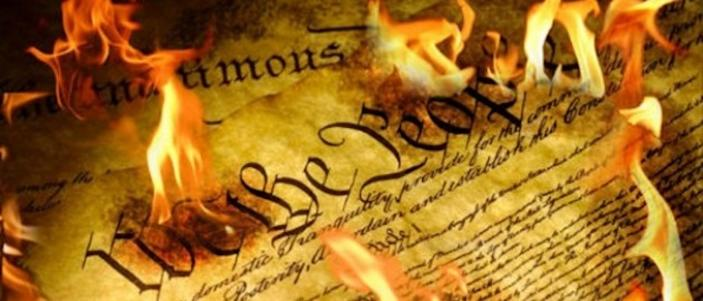 ANOTHER university stops students from handing out Constitution