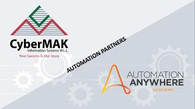 CyberMAK Information Systems announces partnership with Automation Anywhere to address demands for automation globally.