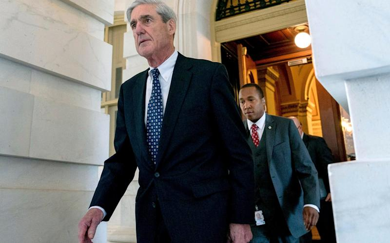 Robert Mueller has been investigating Russian meddling in the 2016 US election since May 2017 - AP