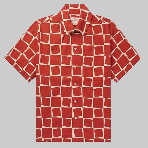 "<p><a rel=""nofollow"" href=""https://www.mrporter.com/en-gb/mens/levis_vintage_clothing/button-down-collar-printed-cotton-poplin-shirt/1120320?ppv=2"">SHOP</a></p><p>Finally, a summer print that isn't 'ironically' tiki, or bright enough to blind. Levi's Vintage instead kept things geometric with a wearable shade of red.</p><p><em>Poplin Shirt, £120, <a rel=""nofollow"" href=""https://www.mrporter.com/en-gb/mens/levis_vintage_clothing/button-down-collar-printed-cotton-poplin-shirt/1120320?ppv=2"">mrporter.com</a></em></p>"
