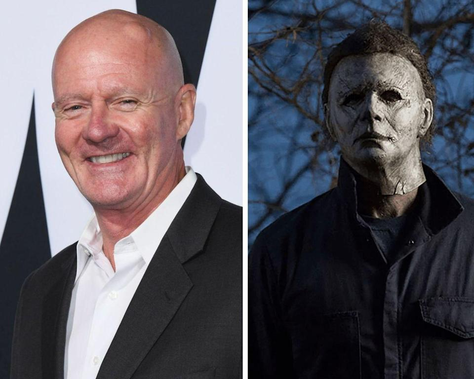 <p>The man behind the expressionless mask of Michael Myers in the reboot of <em>Halloween</em> is actor/stuntman, James Jude Courtney. Before landing the role of the iconic slasher, Courtney appeared in several hit TV shows, including <em>Buffy the </em><em>Vampire Slayer</em> and <em>Unsolved Mysteries</em>. He is also set to reprise the role in the upcoming <em>Halloween Kills</em> and <em>Halloween Ends</em>. However, he wasn't the only actor to portray the killer in 2018's <em>Halloween</em>. Nick Castle, the actor who played the character in the original 1978 <em>Halloween</em>, slipped on the mask for a few of the shots.</p>