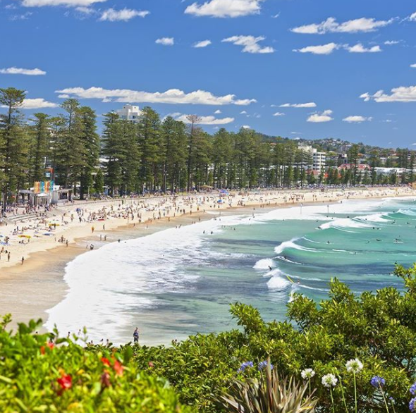 Haven't been to Manly? You haven't been to Australia's best beach, according to a new poll. Photo: Instagram/manlyaustralia