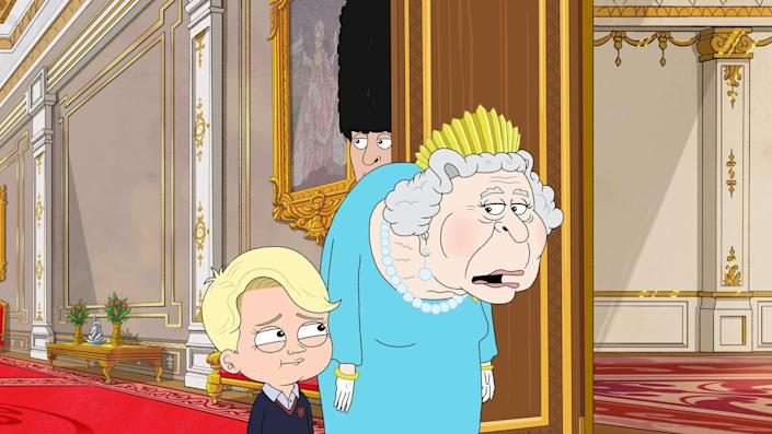 """HBO Max's """"The Prince"""" is a satirical take about the imagined Royal Family through the lens of Prince George (voiced by Gary Janetti)."""
