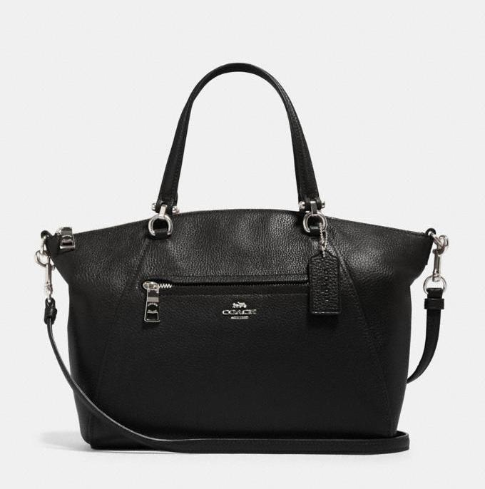 Save 60% on the Prairie Satchel. Image via Coach Outlet.