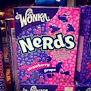 <p>The first-ever Nerds flavors on the market were Cherry/Orange and Strawberry/Grape, treating candy lovers to two varieties in one box. Every kid remembers pouring crunchy Nerds from the box directly into their mouth, whether a classic flavor or newer, sour edition.</p>