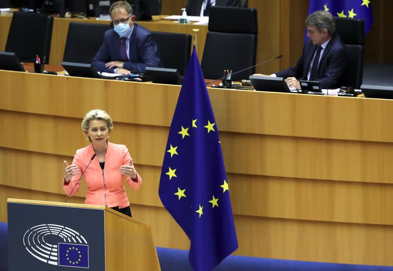 "EU chief executive decries ""LGBT-free zones"" in swipe at Poland"