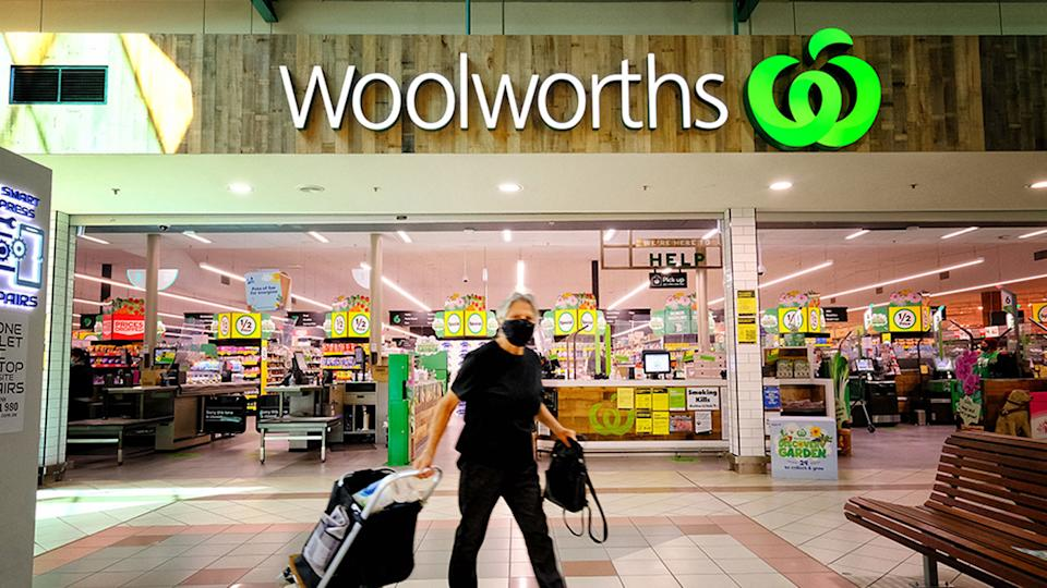 Woolworths was experiencing an outage across both its website and apps on Monday morning. Source: AAP