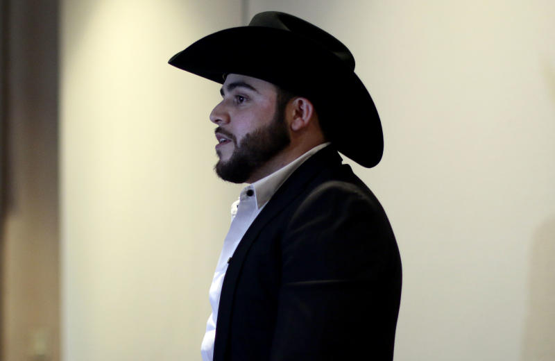 Gerardo Ortiz. Foto: FERNANDO BRITO/AFP via Getty Images