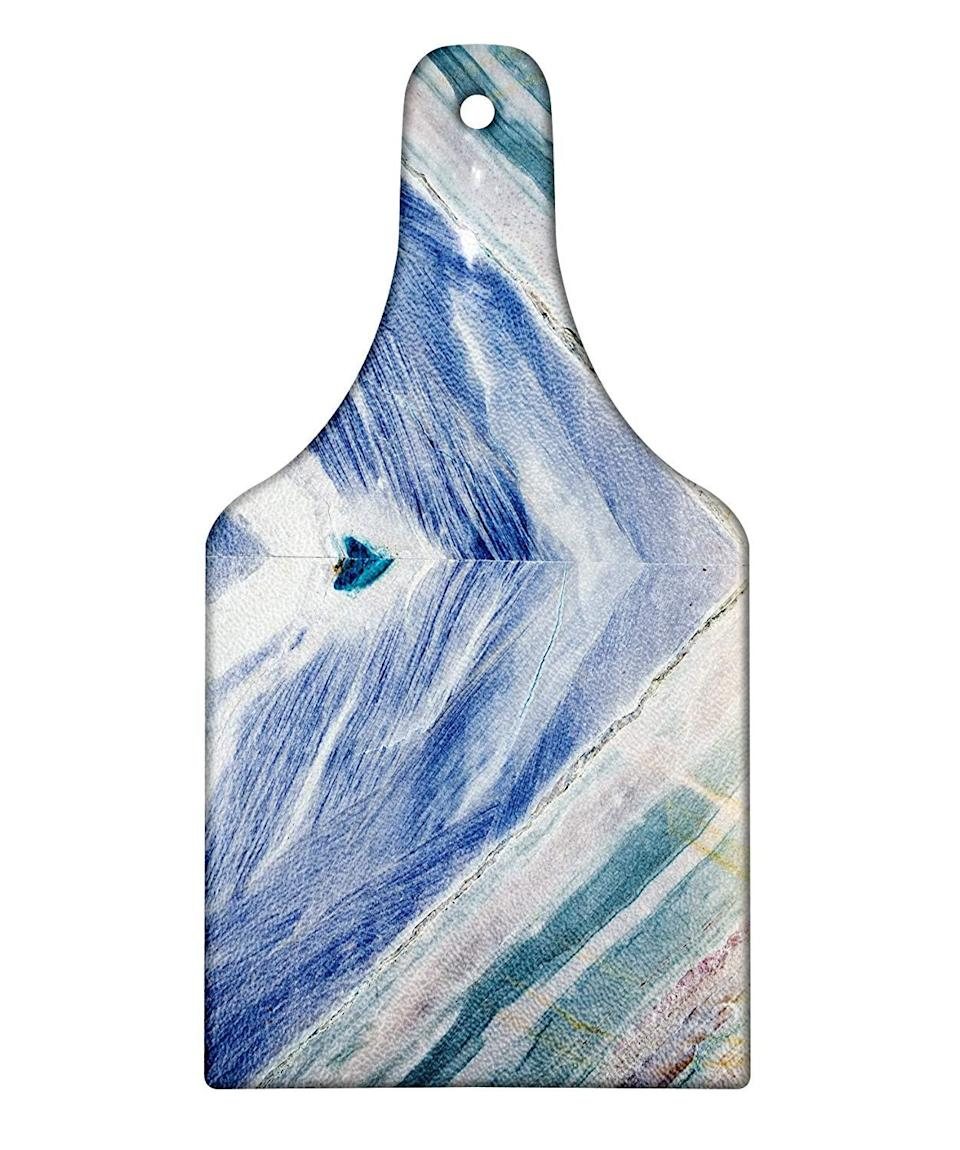 "<h3><a href=""https://amzn.to/2PoahWF"" rel=""nofollow noopener"" target=""_blank"" data-ylk=""slk:Marble Cheese Board"" class=""link rapid-noclick-resp"">Marble Cheese Board</a> </h3><br>Elevate their charcuterie game this holiday season with a swanky, blue-marble board. <br><br><strong>Lunarable</strong> Marble Serving Board, $, available at <a href=""https://amzn.to/2PoahWF"" rel=""nofollow noopener"" target=""_blank"" data-ylk=""slk:Amazon"" class=""link rapid-noclick-resp"">Amazon</a>"