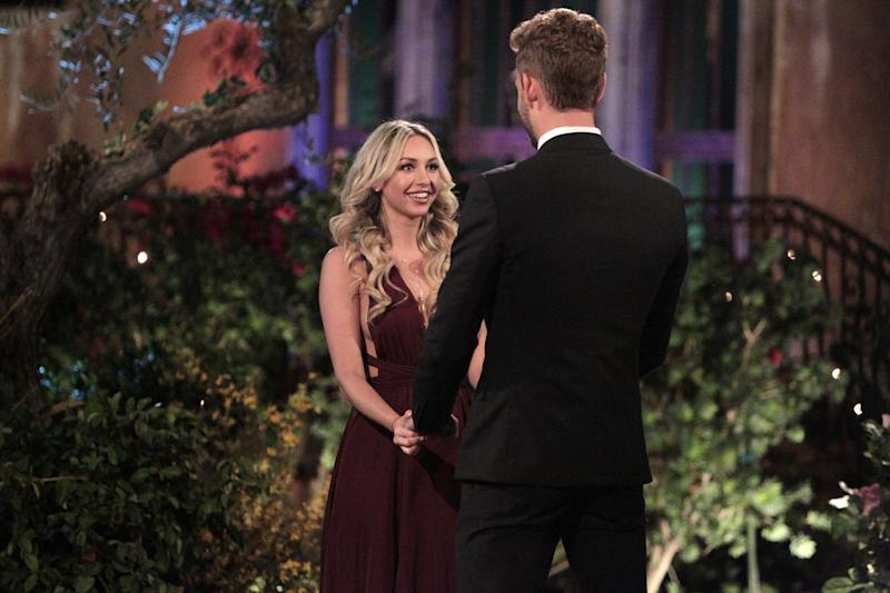 The Bachelor's Corinne Olympios Is Actually Engaged, According to a Former Fling