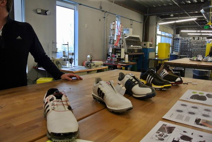 """9d11c5724446ef ... they worked with the Adidas Golf team on a new golf shoe called the  Powerband Boa Boost. """"With improved sample quality"""
