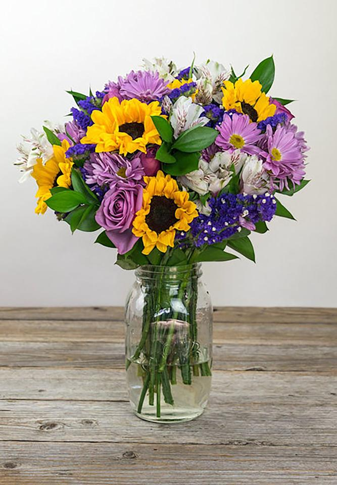 """<p><em></em></p><p><em>From $48</em></p><p><a rel=""""nofollow"""" href=""""https://bouqs.com/bouquets/marvelous_sunflowers-roses"""">SHOP NOW</a></p><p>Eco-conscious moms will love a floral arrangement from <a rel=""""nofollow"""" href=""""https://bouqs.com/flowers/mothers-day"""">Bouqs</a>, a company that offers farm-to-table flowers from sustainable sources.</p>"""