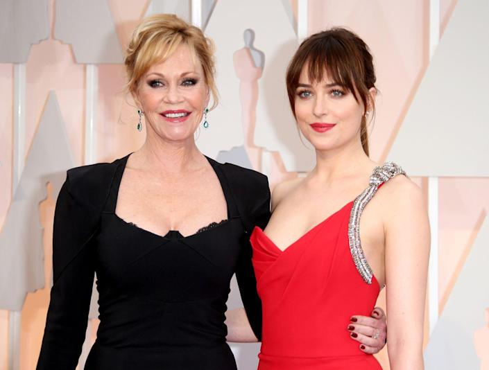 <p>As the daughter of famed actress of Hollywood's golden age, Tippi Hedren, it's clear Melanie Griffith's star power is something genetic. Griffith was very briefly married to actor Don Johnson and had a daughter, Dakota, who has starred in the film adaptation of <em>50 Shades of Grey</em> amongst a string of other very commercially successful films.</p>