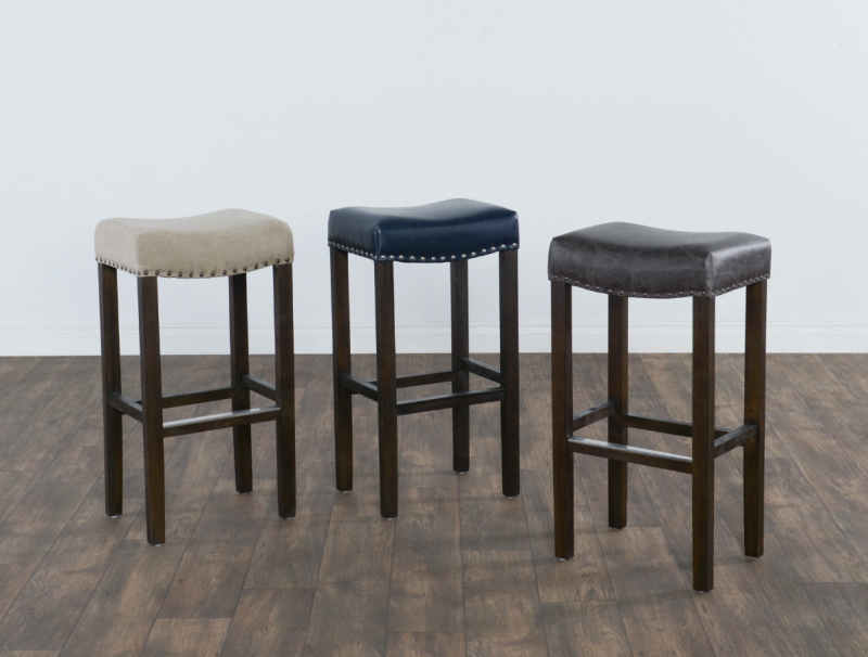 Kai 31-inch Backless Barstool by Kosas Home. (Photo: Overstock)