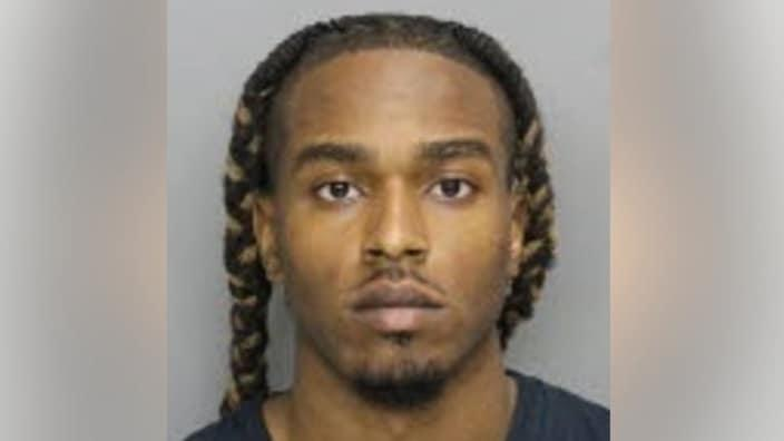 Bryan Anthony Rhoden, 23, has been charged for the murders of three men at a Georgia golf course. (Cobb County Sheriff's Office)