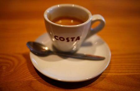 FTSE 100 flat as Costa owner Whitbread's shares fall