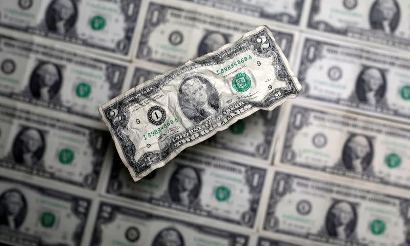 Dollar drops, Aussie, Sterling gain as risk appetite increases