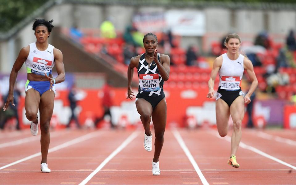 The likes of Dina Asher-Smith will be in action this weekend in Manchester - PA