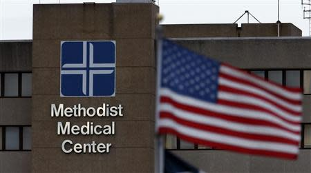 UnityPoint Clinic Methodist Medical Center is seen in Peoria, Illinois, November 25, 2013. REUTERS/Jim Young