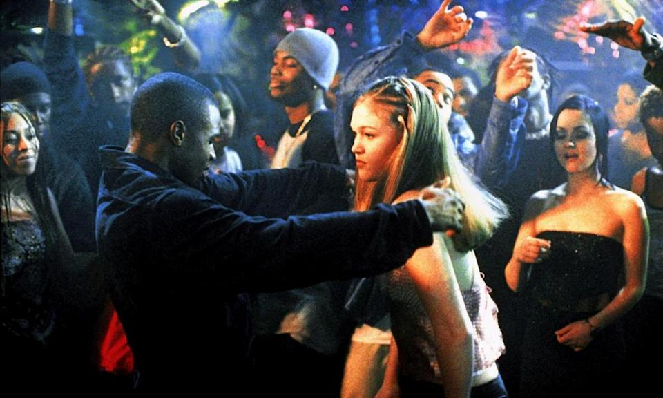 Sean Patrick Thomas and Julia Stiles in Save the Last Dance
