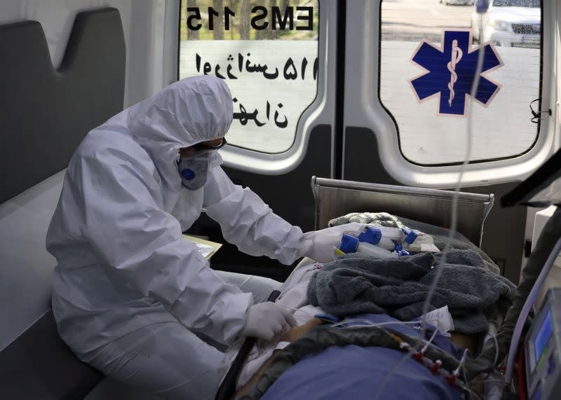 Iran's coronavirus death toll rises to 3,036  - health ministry official