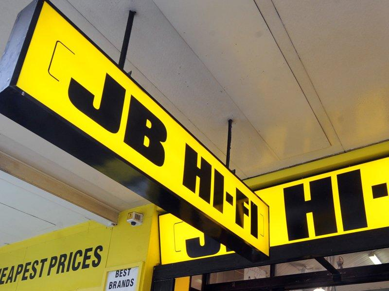 JB HiFi profits rise, comparable sales dip