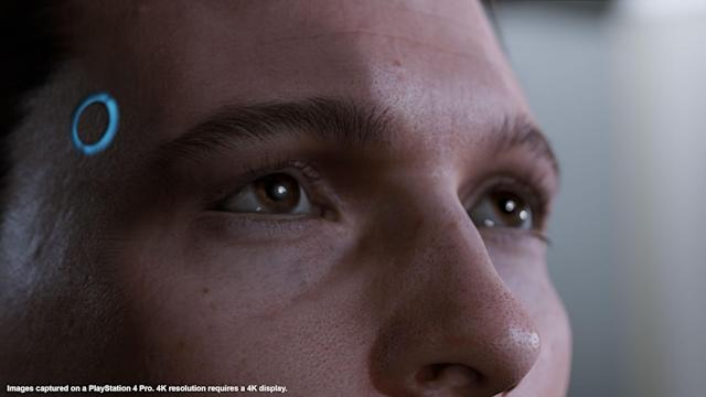 'Detroit: Become Human' uses motion capture technology to create characters that look so realistic it's almost scary.