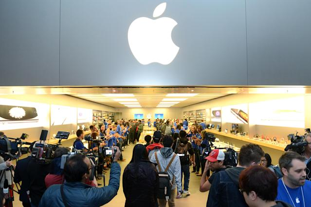 Apple store in Toronto (Photo by Ryan Emberley/Invision for Apple/AP Images)