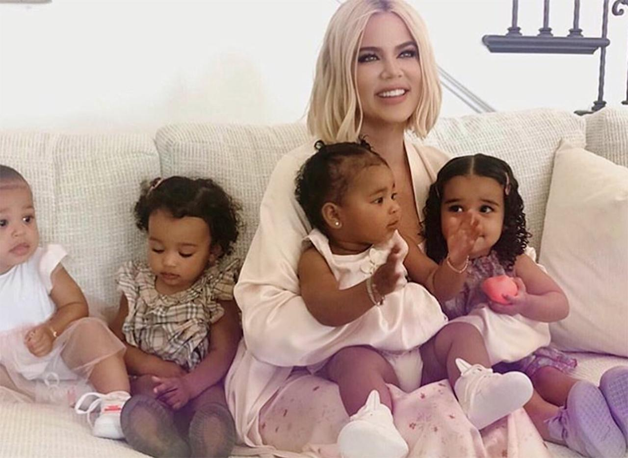 Auntie KoKo's in the house! Kardashian, whose daughter, True, is nearly 2 years old, often posts photos and videos of her nieces and nephews.
