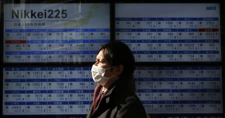 Asian equities turned positive in afternoon trade on Monday