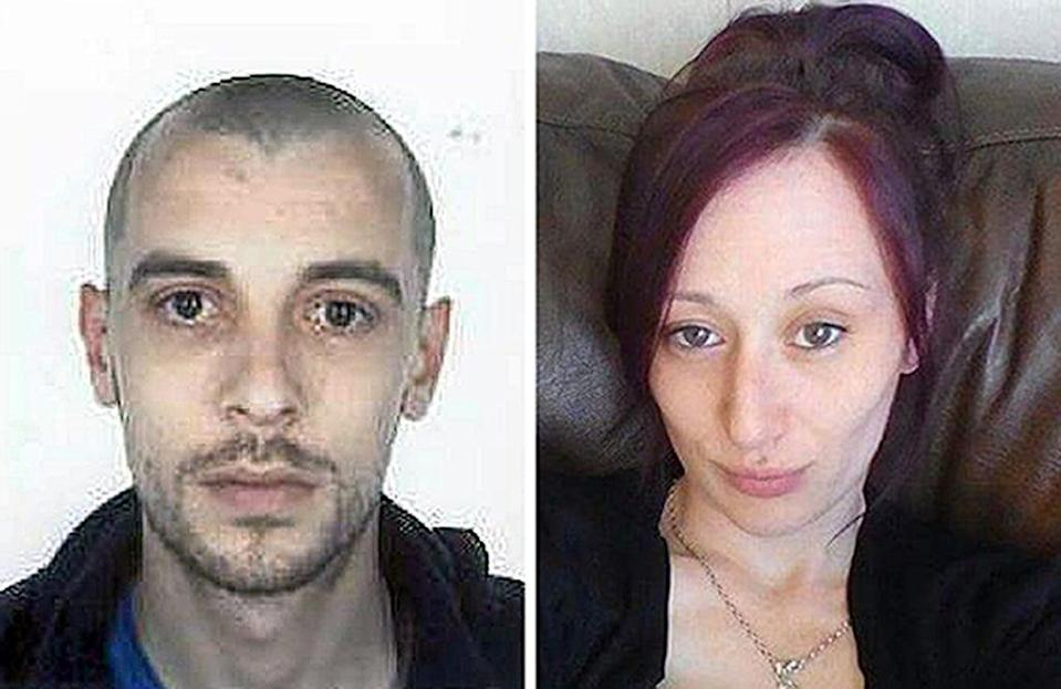 John Yuill and Lamara Bell died in 2015 (Police Scotland/PA) (PA Media)
