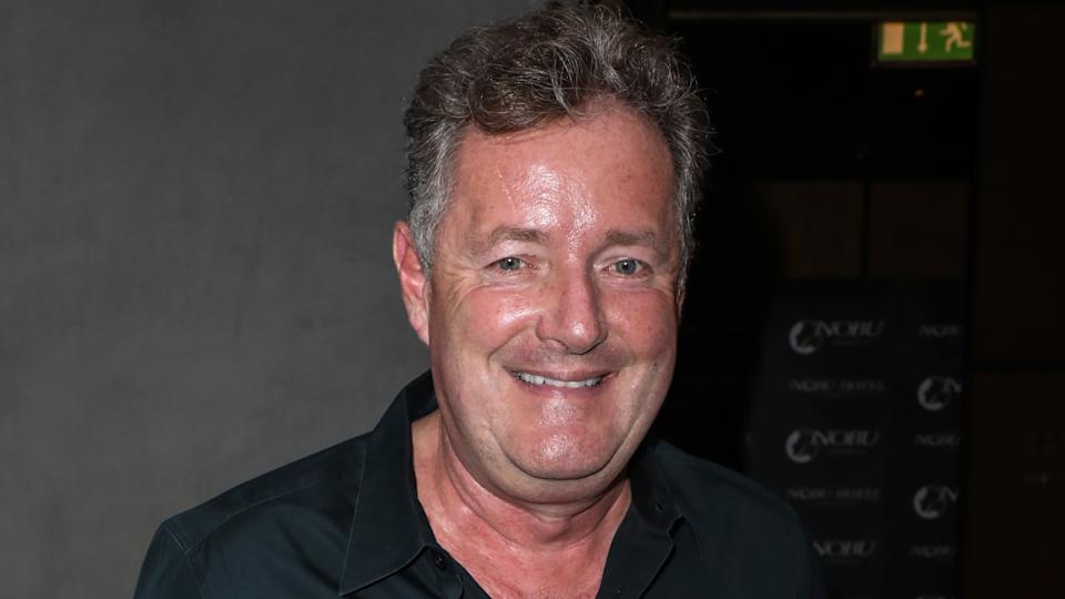 Piers Morgan says 'woke snowflakes' need not apply to his new show. (Brett Cove / SOPA Images/Sipa USA)
