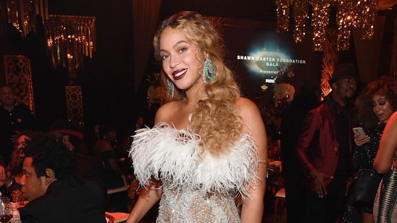 Beyoncé Rocks Glamorous Gowns Before and During Shawn Carter Foundation Gala