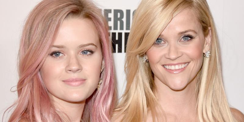 Reese Witherspoon and her daughter Ava Phillippe