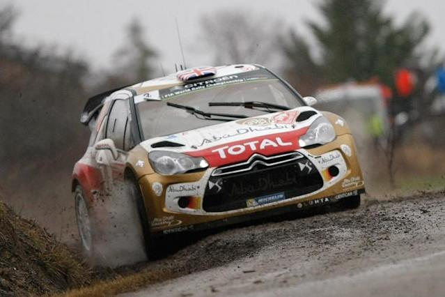 Snow? Sno' problem for Tyrone's Kris Meeke at the Rally of Sweden