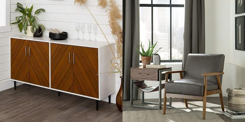 """<p>If you're an Amazon shopper, you know that <a href=""""https://www.housebeautiful.com/shopping/best-stores/a34192607/best-amazon-prime-day-deals-2020/"""" rel=""""nofollow noopener"""" target=""""_blank"""" data-ylk=""""slk:Amazon Prime Day"""" class=""""link rapid-noclick-resp"""">Amazon Prime Day</a> is one of the biggest shopping events of the year. While the sale was postponed earlier this summer, the retail giant just announced sale dates for Prime Day 2020, and the good news is it's actually coming up pretty soon. This year, <strong>Prime Day will run from Oct. 13 through Oct. 14,</strong> and while we don't know much about the discounts to come, there are plenty of deals happening in the lead-up to the sale. </p><p>If you were hoping to buy new furniture or rugs once the sale begins, you don't have to wait to start saving. Right now, Amazon is offering sales on <a href=""""https://www.amazon.com/deal/ef3f42ff/ref=ped_cg_pd_us_furn_lu?moreDeals=a91edd50&tag=syn-yahoo-20&ascsubtag=%5Bartid%7C10057.g.34196286%5Bsrc%7Cyahoo-us"""" rel=""""nofollow noopener"""" target=""""_blank"""" data-ylk=""""slk:select furniture and rugs"""" class=""""link rapid-noclick-resp"""">select furniture and rugs</a> prior to Prime Day, and the discounts are <em>already</em> amazing (20 percent or more!)—you just need to <a href=""""https://www.amazon.com/amazonprime?_encoding=UTF8&ref=st_wlp_opt_out&tag=syn-yahoo-20&ascsubtag=%5Bartid%7C10057.g.34196286%5Bsrc%7Cyahoo-us"""" rel=""""nofollow noopener"""" target=""""_blank"""" data-ylk=""""slk:be a Prime member"""" class=""""link rapid-noclick-resp"""">be a Prime member</a> to take advantage of the deals. And if this year's sale is anything like last year's, you can expect even more where these come from. </p><p>Check out our top picks below, and stay tuned for more <a href=""""https://www.amazon.com/l/13887280011?tag=syn-yahoo-20&ascsubtag=%5Bartid%7C10057.g.34196286%5Bsrc%7Cyahoo-us"""" rel=""""nofollow noopener"""" target=""""_blank"""" data-ylk=""""slk:Prime Day"""" class=""""link rapid-noclick-resp"""">Prime Day </a>updates—we'll be adding new de"""