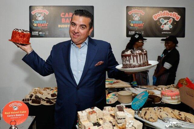 'Cake Boss' Buddy Valastro hosted the Sweet 'N Beats event
