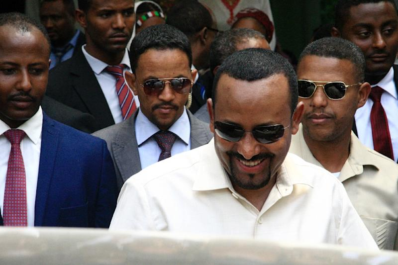 Ethiopian Prime Minister Abiy Ahmed's talks with protest movement representatives were part of a bid to get negotiations on Sudan's political transition back on track after a deadly crackdown on demonstrators this week