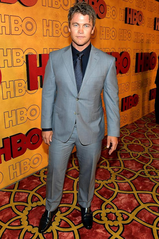 <p><em>Westworld</em>'s Luke Hemsworth — yes, one of those Hemsworths — attended the HBO get-together. (Photo: Matt Winkelmeyer/Getty Images) </p>