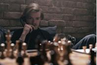 <p>Yet another member of Beth's roster of competitor-friend-lovers, Benny has the somewhat oxymoronic persona of the bad boy of chess, and plays a major role in getting Beth to the USSR to face down her Russian competition. No matter how much he tries to pull off the Harry Styles vibe in <em>The Queen's Gambit</em>, though, Brodie-Sangster will never not be the lovesick kid from <em>Love, Actually</em>.</p>