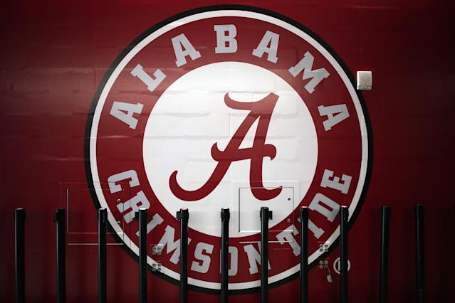 """A former Alabama gymnast is speaking out about a """"disturbing"""" joke made in practice and allowed to slide by the university. (Photo by Robin Alam/Icon Sportswire via Getty Images)"""