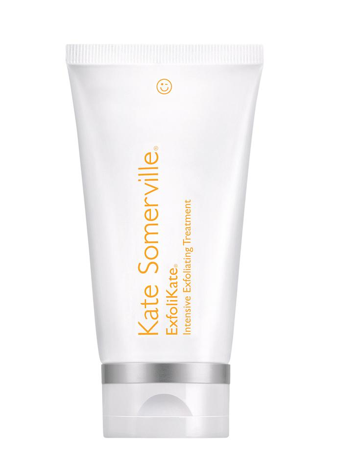"""A quarter-size dollop makes your face insanely radiant (no wonder it's the holy grail of exfoliators!).  <strong>Buy It!</strong> Kate Somerville ExfoliKate, $85; <a href=""""https://click.linksynergy.com/deeplink?id=93xLBvPhAeE&mid=2417&murl=https%3A%2F%2Fwww.sephora.com%2Fproduct%2Fexfolikate-intensive-exfoliating-treatment-P232915%3FskuId%3D1201748&u1=PEO%2C9WaystoGetYourMostRadiantSkin%2CEver%2Cjackiefields2014%2CUnc%2CGal%2C7230598%2C201912%2CI"""" target=""""_blank"""" rel=""""nofollow"""">sephora.com</a>"""