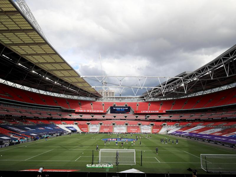 General view inside the stadium: Getty Images