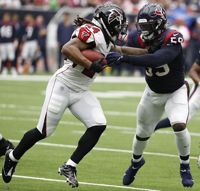 Texans OLB Whitney Mercilus a magnet for football