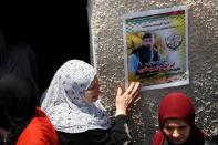 Funeral of a Palestinian man killed in the?Israeli-occupied West Bank