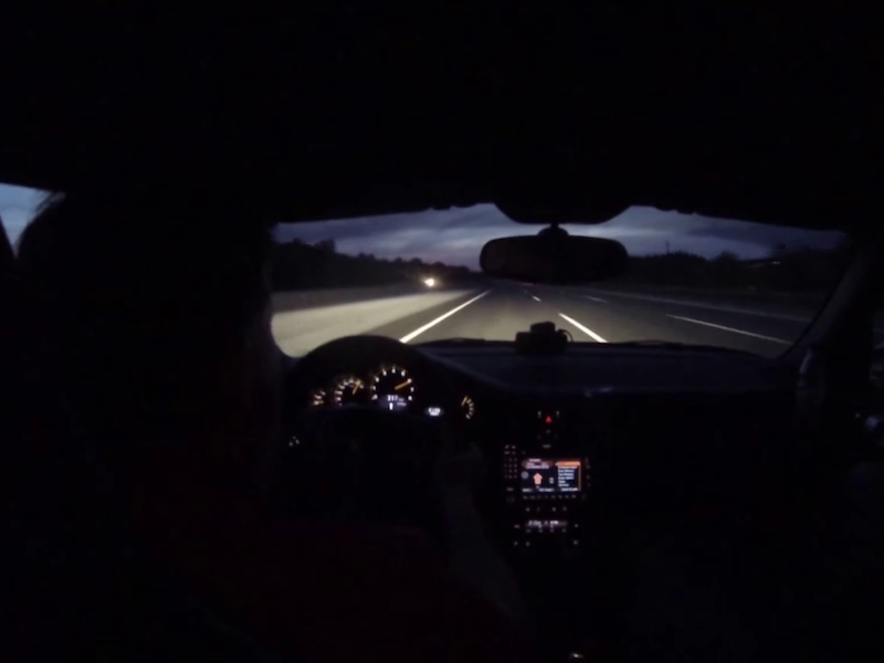 Watch This Porsche 911 GT2 Driver Save His Car from a 200 MPH Blowout
