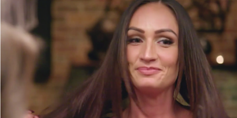 MAFS Hayley smiles during MAFS episode 11