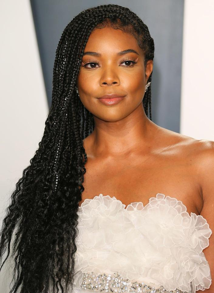 """Gabrielle Union, a former judge for """"America's Got Talent,"""" attends Vanity Fair's Oscar Party in Beverly Hills, Calif. on Feb. 9, 2020."""