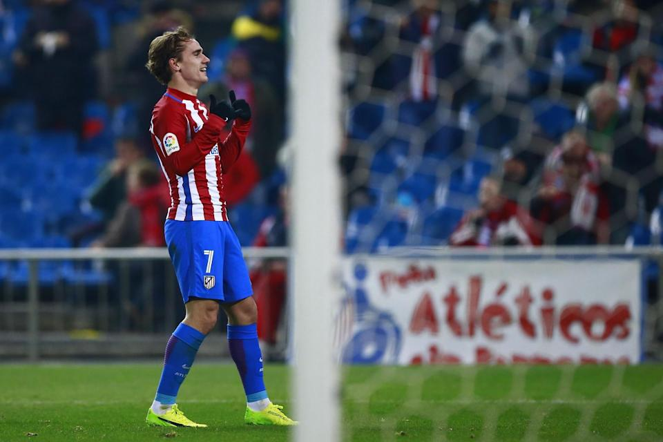 Antoine Griezmann does not look like becoming a Manchester United player at the moment
