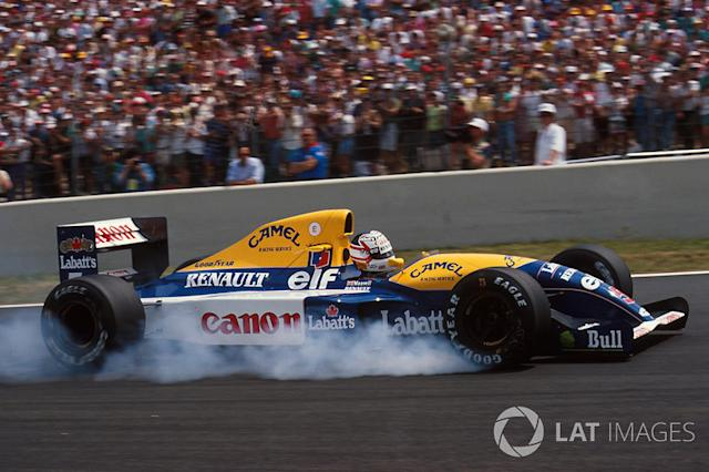 "1991: Williams-Renault FW14 <span class=""copyright"">Sutton Images</span>"